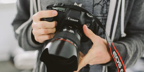 Wex Back-to-Basics | Beginner's Guide to DSLR and Mirrorless Cameras tickets