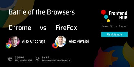 Battle of the Browsers - Chrome vs. Firefox tickets