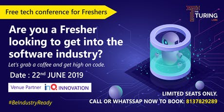 Fresher's Tech conference 2019 tickets