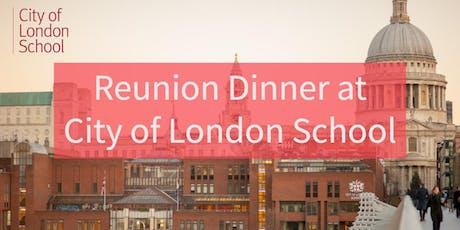 Reunion Dinner at City of London School tickets