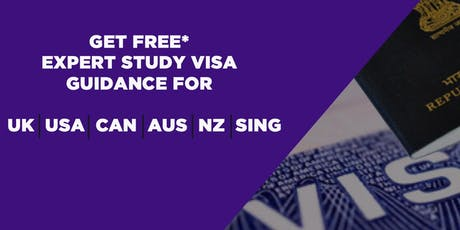 GET FREE* EXPERT STUDY VISA GUIDANCE IN DELHI tickets
