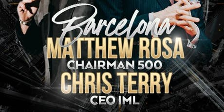 CHRIS TERRY AND MATTHEW ROSA BARCELONA entradas