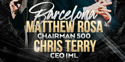 CHRIS TERRY AND MATTHEW ROSA BARCELONA