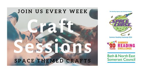 Craft Sessions - Midsomer Norton (Summer Reading Challenge 2019)