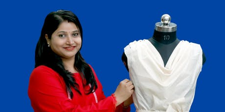 3D Fashion Draping Workshop tickets