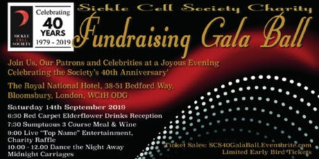 40th Anniversary Gala Ball tickets