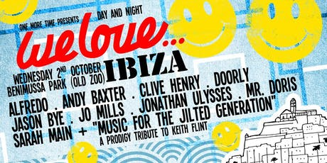 We Love at Benimussa Park (One More Time Ibiza) tickets