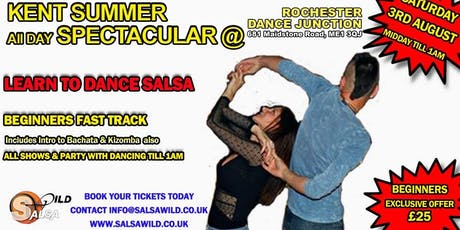 BEGINNERS FAST TRACK Kent Summer All day spectacular  tickets