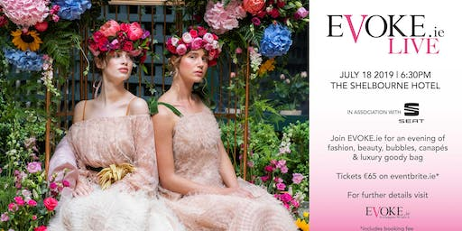 EVOKE Live, Fashion, Beauty, Bubbles, The Shelbourne hotel