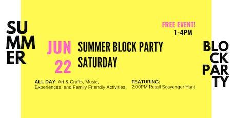 Summer Block Party Saturdays @ Village Walk tickets
