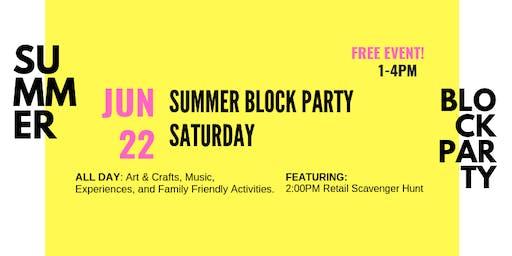 Summer Block Party Saturdays @ Village Walk