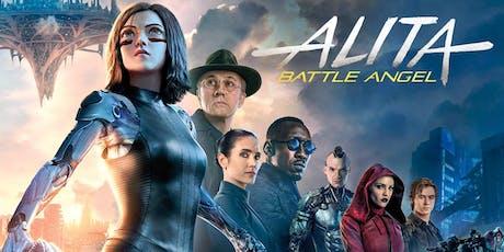 Alita: Battle Angel (+ Pizza!) tickets