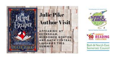 Julie Pike Author Event (Summer Reading Challenge 2019)