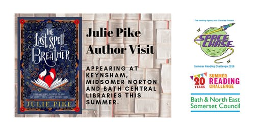 Julie Pike Author Event (Summer Reading Challenge 2019)