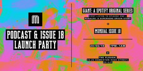 MUNDIAL ISSUE 18 & PODCAST LAUNCH PARTY tickets