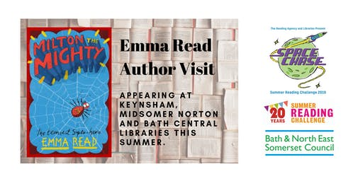 Emma Read Author Event (Summer Reading Challenge 2019)