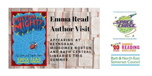 Emma Read Author Event (Summer Reading Challenge 2019)