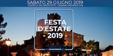 Festa d'Estate 2019  biglietti