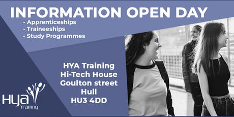 Information Open Day - Apprenticeships/Traineeships/Study Programme tickets