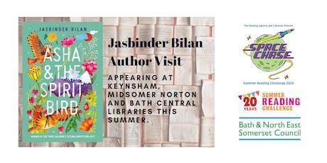 Jasbinder Bilan Author Event (Summer Reading Challenge 2019) tickets