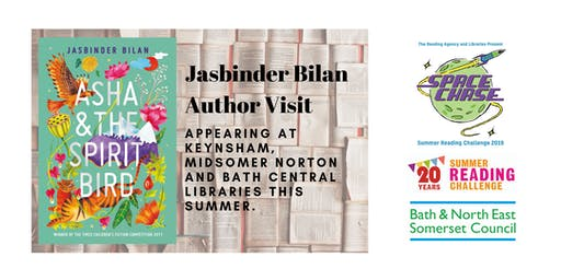 Jasbinder Bilan Author Event (Summer Reading Challenge 2019)