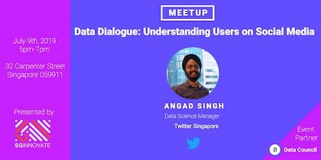 Data Dialogue: Understanding Users on Social Media tickets