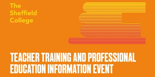 Teacher Training and Professional Education Information Event