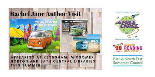 Rachel Jane Author Event (Summer Reading Challenge 2019)