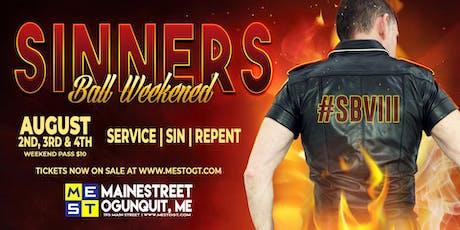 Sinner's Ball Weekend 2019 tickets