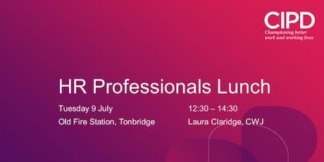 HR Professionals Lunch tickets