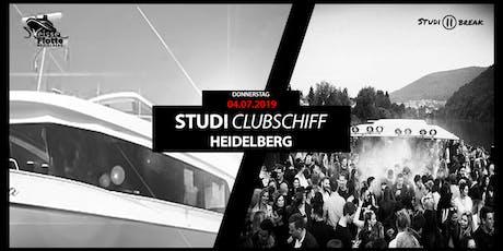 STUDI-CLUBSCHIFF 2019 Tickets