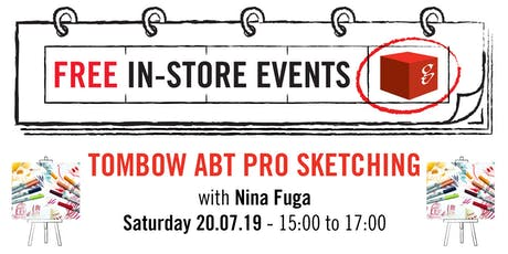 Tombow Pro ABT Sketching Workshop tickets