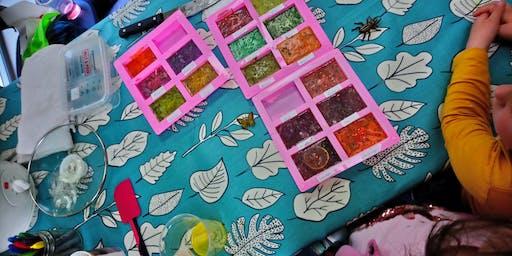 Spring into Summer Kids soap making workshop