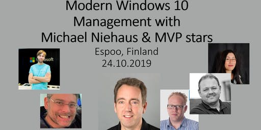 Modern Windows Management with Michael Niehaus & MVP stars