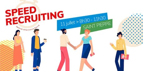 Speed Recruiting  spécial alternance Bac+3  tickets