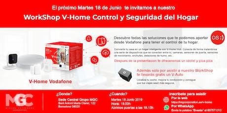 WorkShop V-Home Control y Seguridad del Hogar entradas