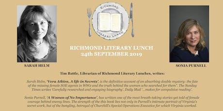 Richmond Literary Lunch tickets