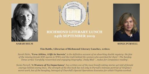 Richmond Literary Lunch
