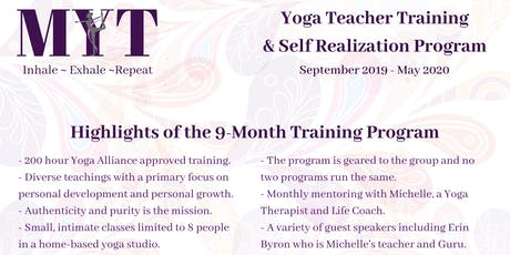 Yoga Teacher Training & Self Realization Program tickets