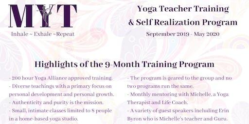 Yoga Teacher Training & Self Realization Program