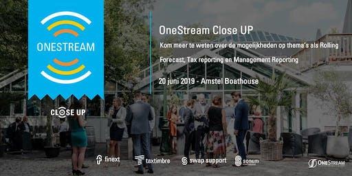 OneStream Close Up 2019