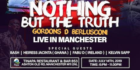 Gordons D' Berlusconi Live In Manchester  tickets