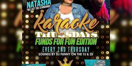 Funds for Fun Karaoke night tickets
