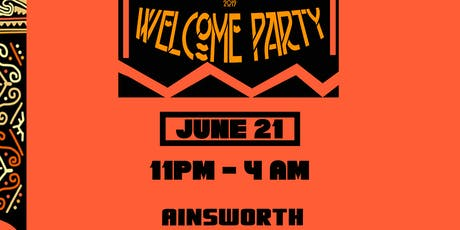 AFRO CARNIVAL WELCOME PARTY tickets