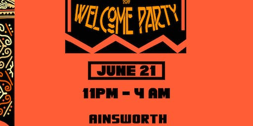 AFRO CARNIVAL WELCOME PARTY