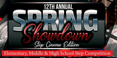 12th Annual Spring Showdown Step Show