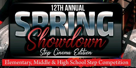 12th Annual Spring Showdown Step Show tickets