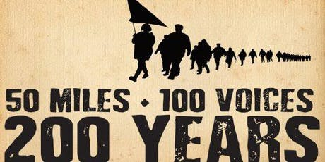 50 Miles, 100 Voices, 200 Years tickets