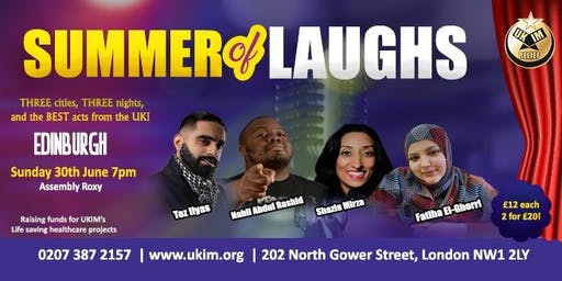 SUMMER of LAUGHS Comedy Tour