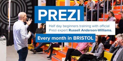 Prezi training for beginners, Sep 5